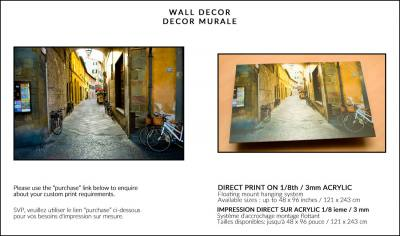 DIRECT PRINTS ON ACRYLIC :: IMPRESSION DIRECTE SUR ACRILIQUE Image