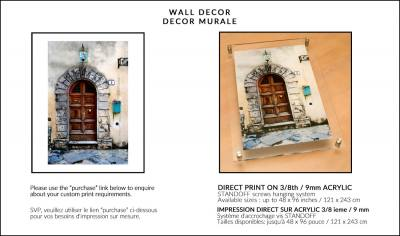 DIRECT PRINTS ON ACRYLIC :: IMPRESSION DIRECTE SUR ACRYLIQUE Image