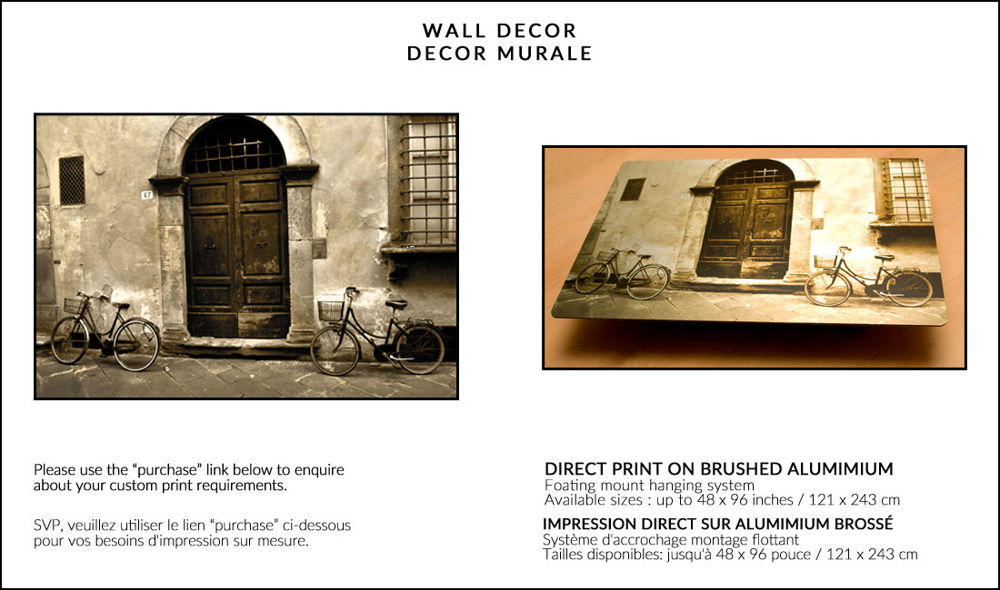 DIRECT PRINTS ON BRUSHED ALUMINIUM :: IMPRESSION DIRECTE SUR ALUMINIUM BROSSÉE Image
