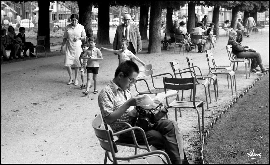 JARDIN LUXEMBOURG 1975  Image