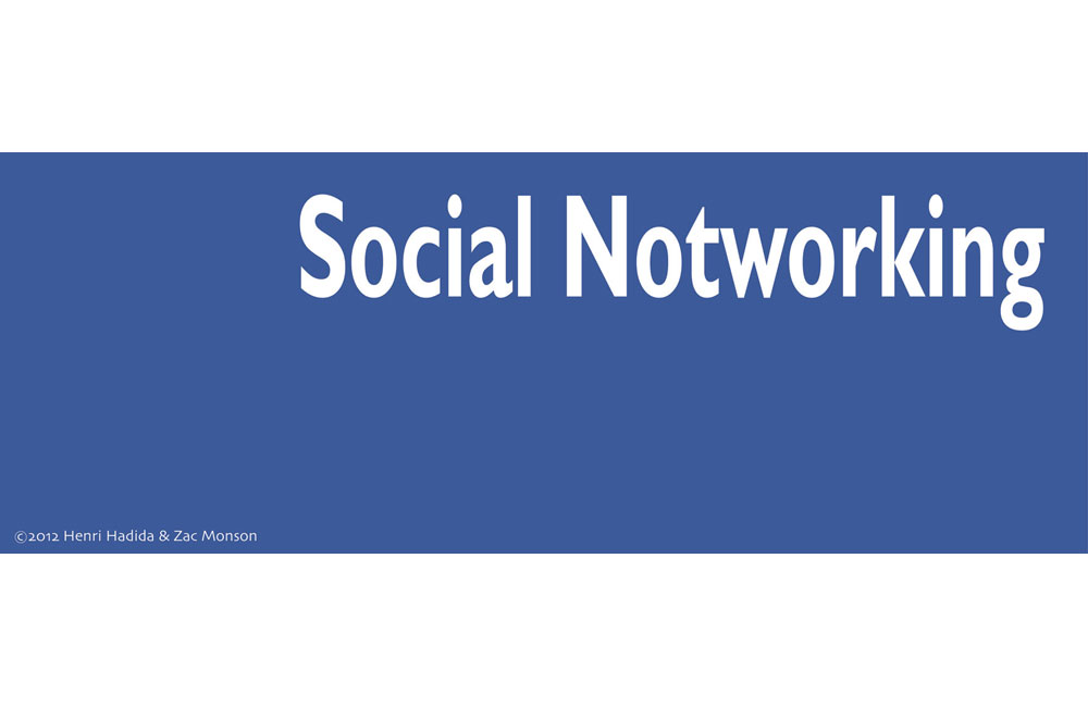 SOCIAL NOTWORKING Image