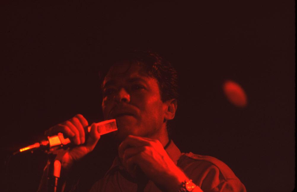 ROBERT PALMER  Montreal July 1983 , Club Soda Image